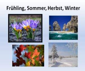 Презентация на немецком о погоде